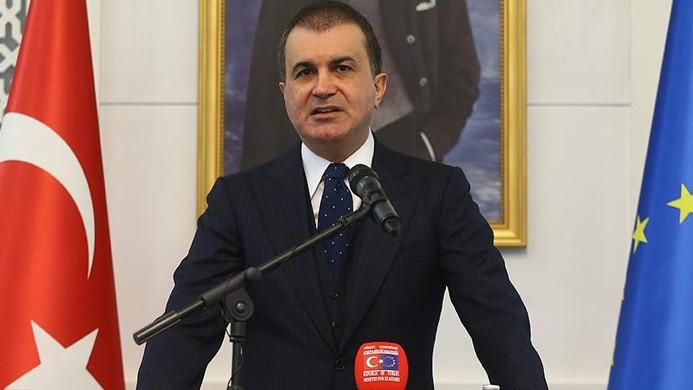 Bakan Çelik'ten AB'ye Afrin eleştirisi