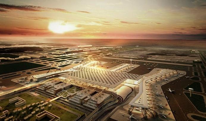 3. Havalimanı'nda çalışmalar rekor hızda sürüyor