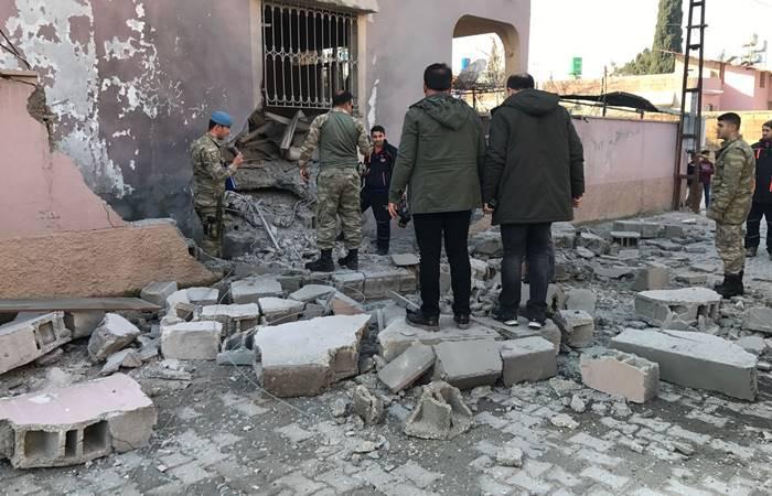 Reyhanlı'ya roketli saldırı: 1 ölü
