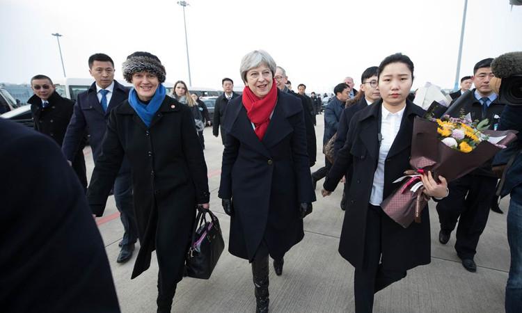 May'in Çin ziyaretinde ana gündem ticaret