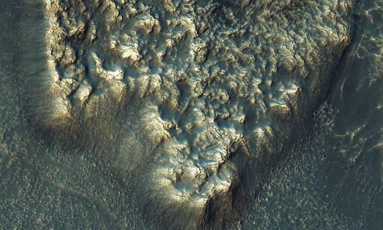 NASA'dan Mars'a ait görüntüler