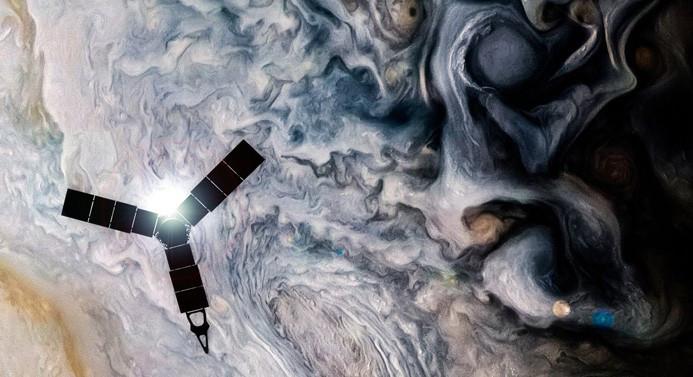 Jüpiter'in nefes kesen fotoğrafları