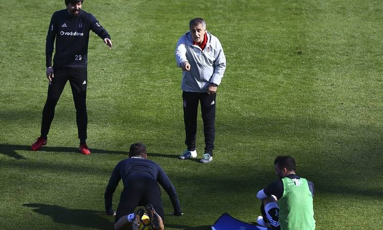 Beşiktaş'ın Antalya kampından kareler