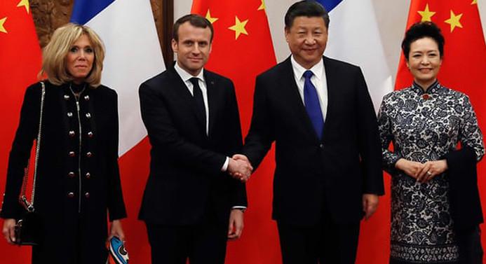 Fransa ve Çin arasında