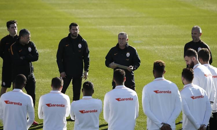 Galatasaray'da ikinci yarı hazırlıkları