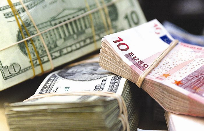 Dolar sakin, euro 2 ayın dip seviyesinde