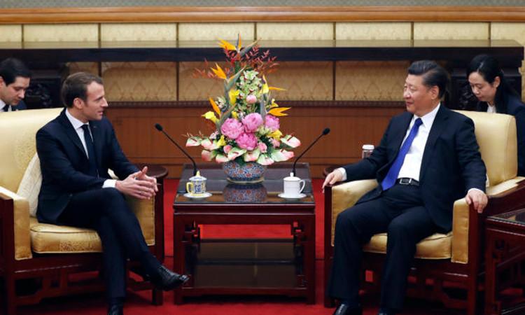 Fransa ile Çin'den milyarlarca euroluk imza