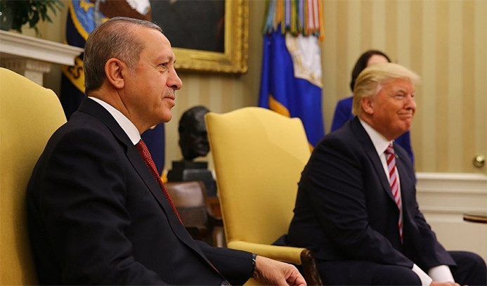 Trump'tan Erdoğan'a teşekkür