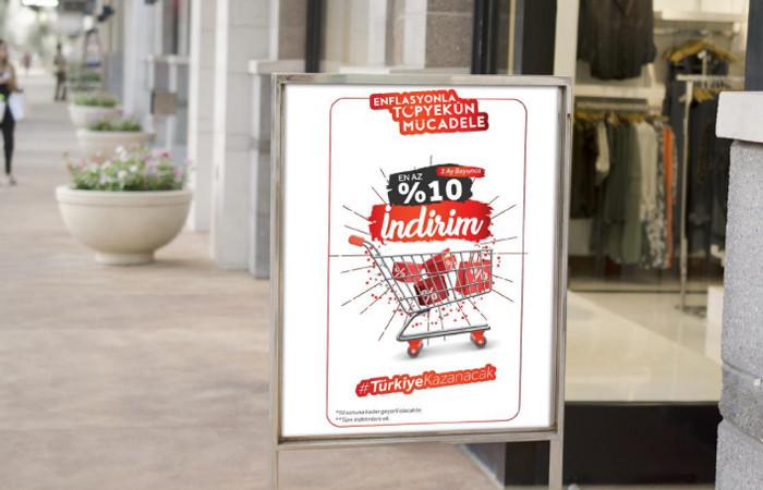 Enflasyonla mücadelede bu görseller kullanılacak