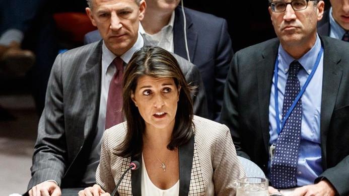 Haley: Rusya uluslararası hukuku ihlal ediyor