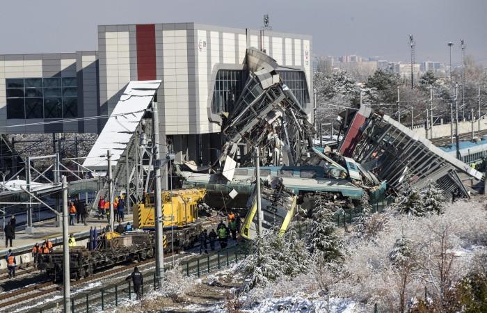 Ankara'daki kaza sonrası hızlı tren seferleri Eryaman'dan yapılıyor