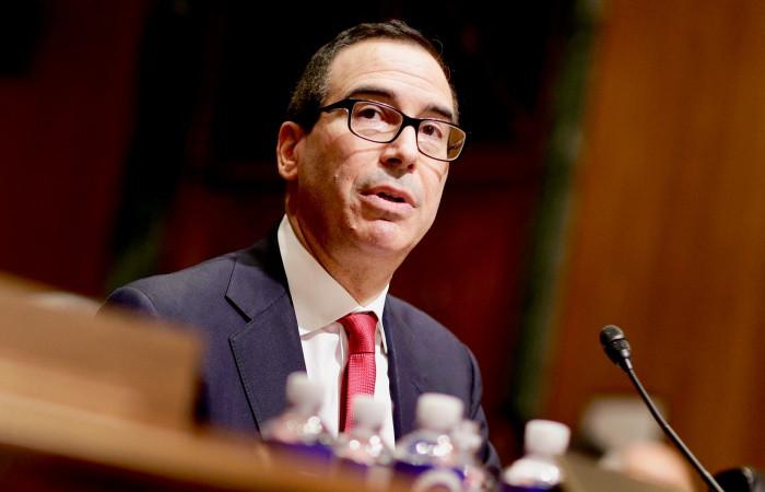 ABD Hazine Bakanı, 6 büyük bankanın yöneticisi ile görüştü