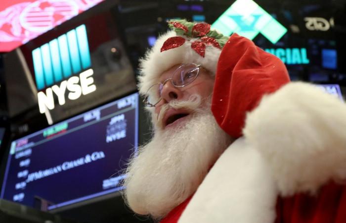 Piyasalar Noel tatiline negatif girdi