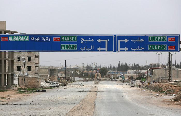 Suriye ordusu Menbiç'e girdi