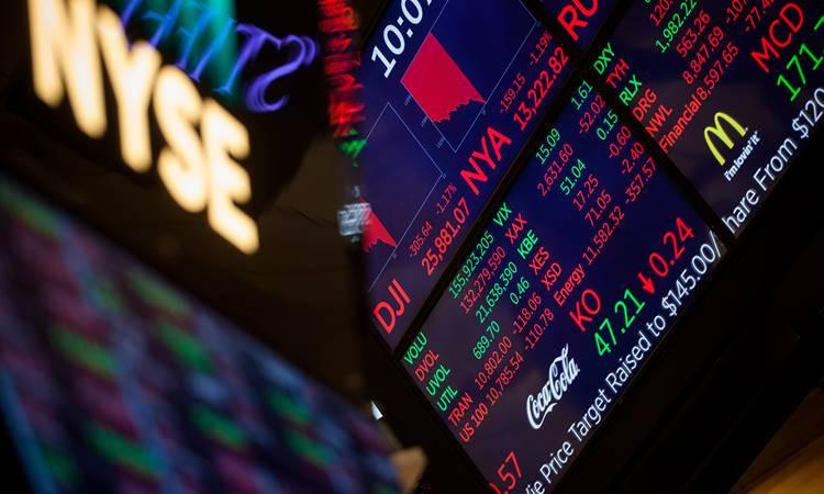 New York Borsası'nda sert düşüş