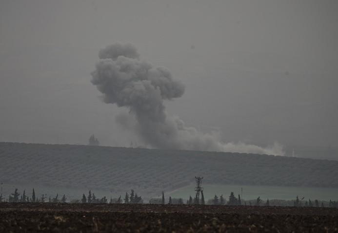 Terör örgütü hedefleri bombalanıyor