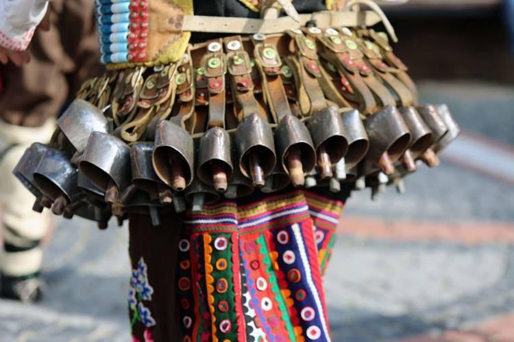 Edirne'deki Kukerlandia Festivali'nden renkli görüntüler
