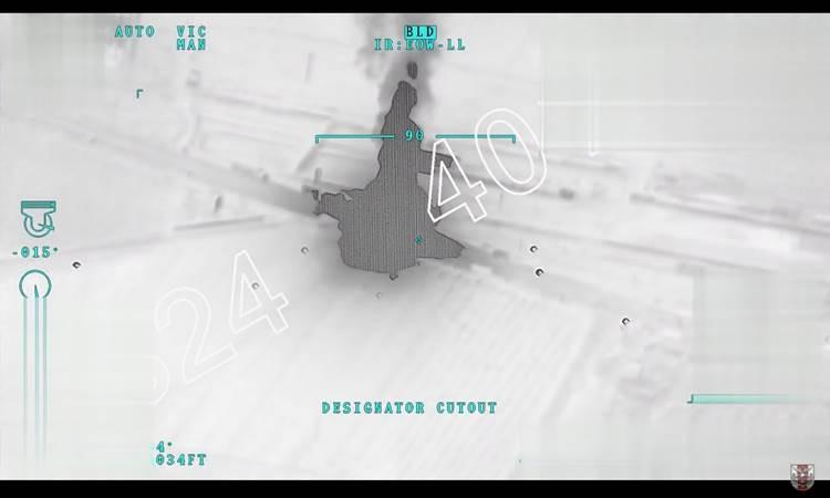 TSK, Afrin'e ilerleyen terör örgütü konvoyunu vurdu