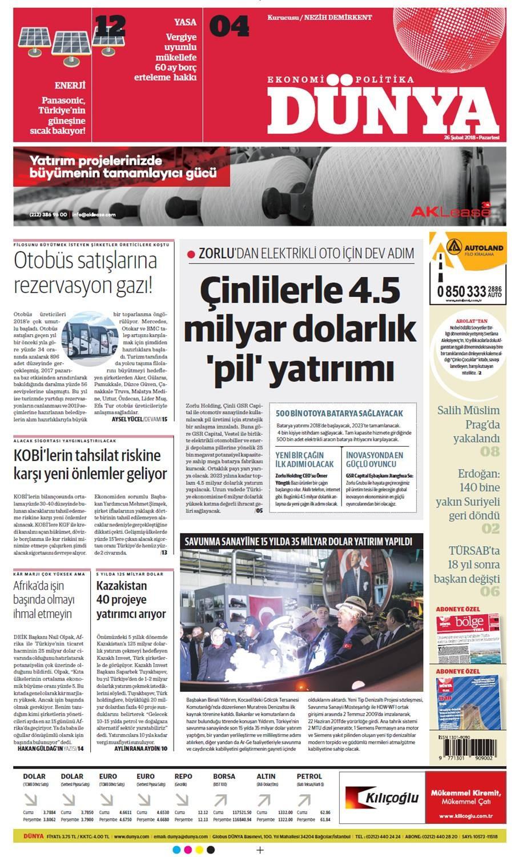 Günün gazete manşetleri (26 Şubat 2018)