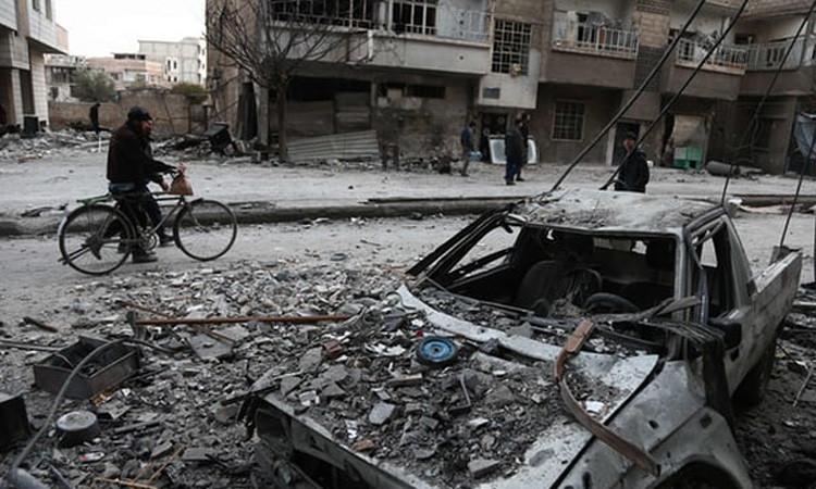 BM: Doğu Guta'da bombardıman sürüyor
