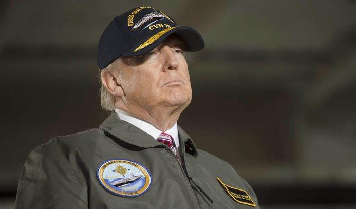Trump'tan Washington'da askeri geçit töreni talebi