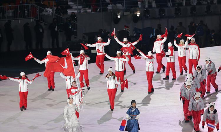 Olimpiyatlarda barış rüzgarı