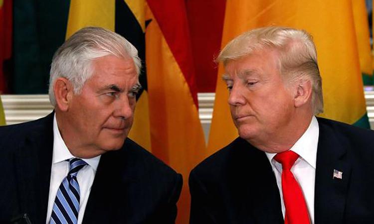 Trump, Tillerson'ı görevden aldı