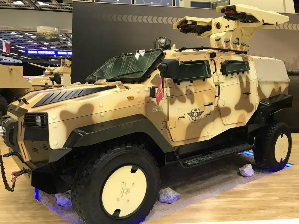 Türkiye'nin yeni zırhlısı NMS dünyaya açıldı