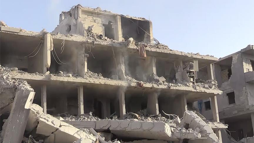 Afrin'de teröristlerin kurduğu tuzak patladı: 11 ölü