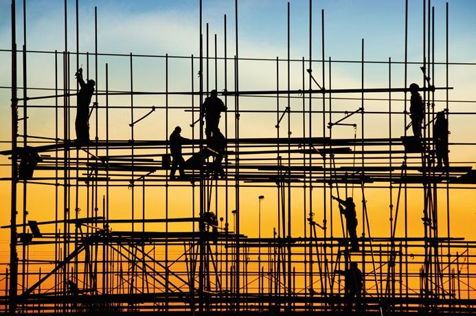 Avrupa'da inşaat üretimi yavaşladı