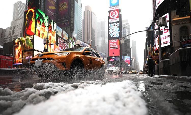 Kar fırtınası 70 milyon kişiyi vurdu