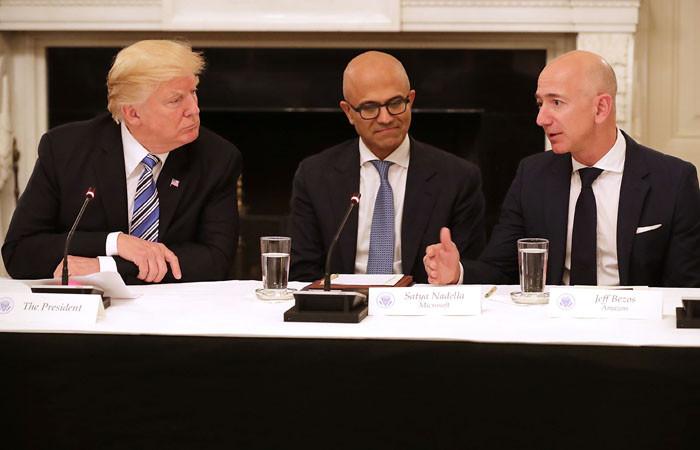 Trump: Amazon çok az vergi ödüyor