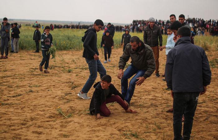 """Gazze'de """"Toprak Günü"""" gerginliği: 12 ölü"""