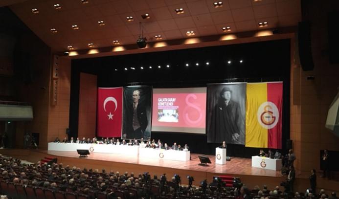 Galatasaray'ın mali kongresinde gerginlik