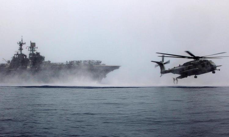 ABD gemileri tatbikat için Doğu Akdeniz'de