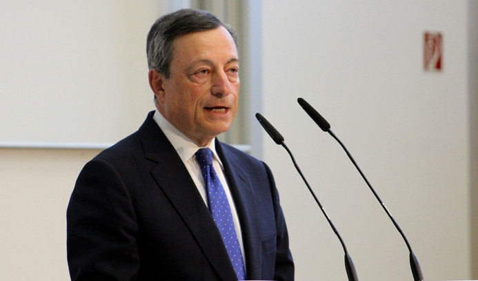 Draghi: Enflasyon konusunda henüz zafer ilan edilemez