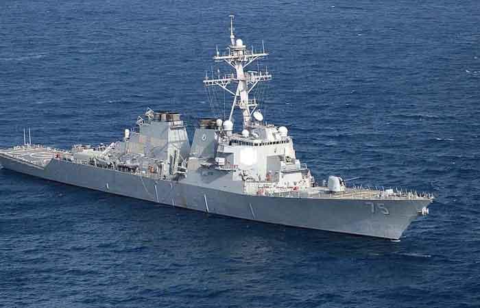 'ABD destroyeri Suriye karasularına yaklaştı' iddiası