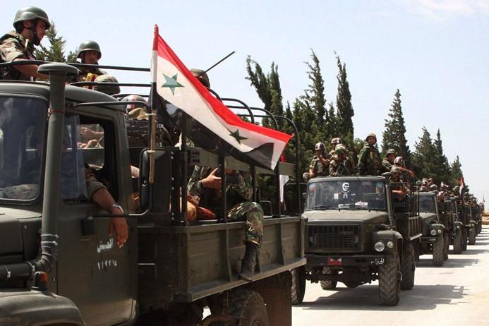 """""""Suriye, havaalanlarını ve askeri üsleri boşaltıyor"""""""