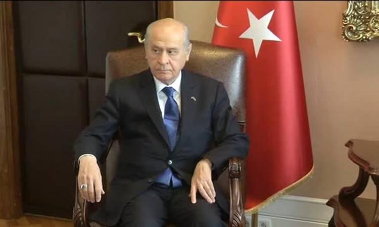 Bahçeli, Adalet Bakanı ile görüştü