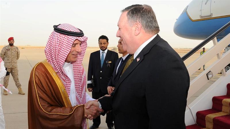 Pompeo, Ortadoğu turuna Suudi Arabistan'da başladı