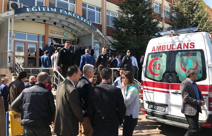 Eskişehir Osmangazi Üniversitesi'nde silahlı saldırı! 4 ölü