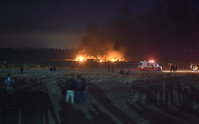 Gazze sınırındaki gösterilerde 7 ölü, çok sayıda yaralı