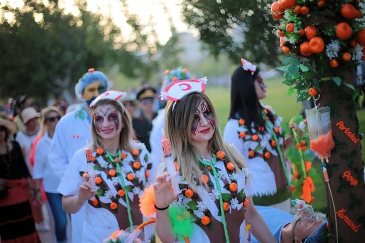Adana'daki Portakal Çiçeği Karnavalı'ndan renkli görüntüler