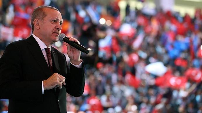 Cumhurbaşkanı Erdoğan'dan Batı'ya Suriye tepkisi