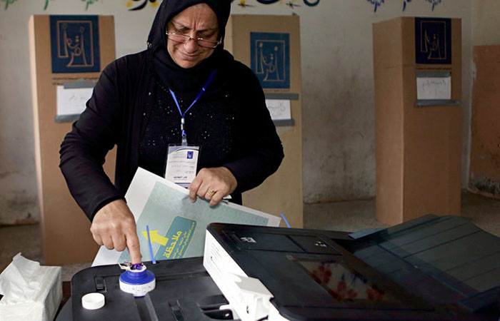 Irak'ta seçimlere usulsüzlük iddiaları damga vurdu