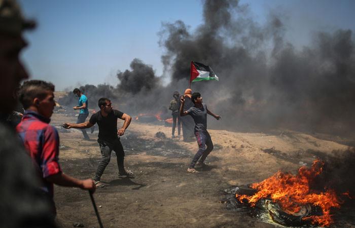 Gazze'de can kaybı ve yaralılar var