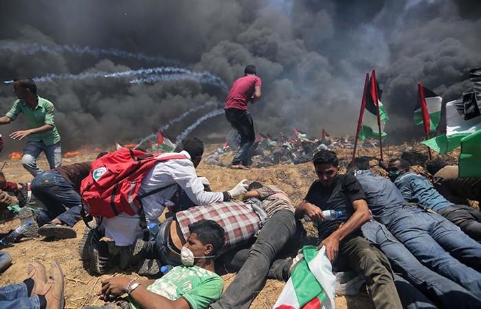Gazze'de hayatını kaybeden Filistinli sayısı 43'e yükseldi