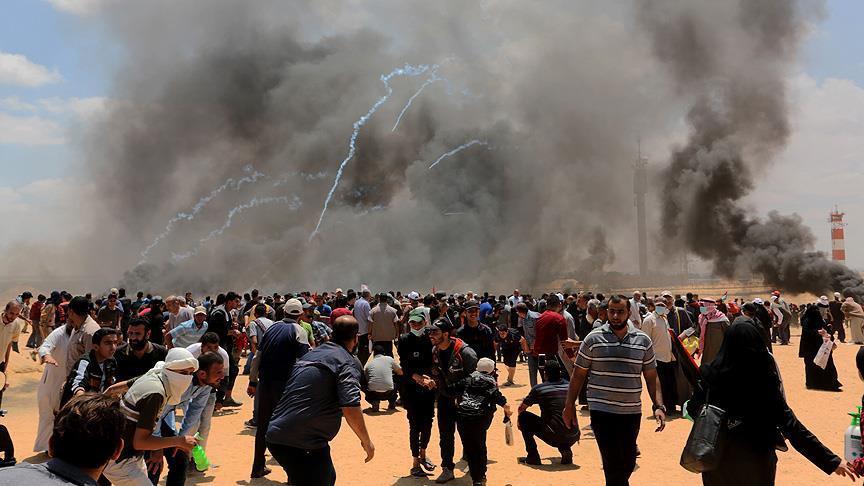 Gazze'de katliam: 59 ölü, 2771 yaralı