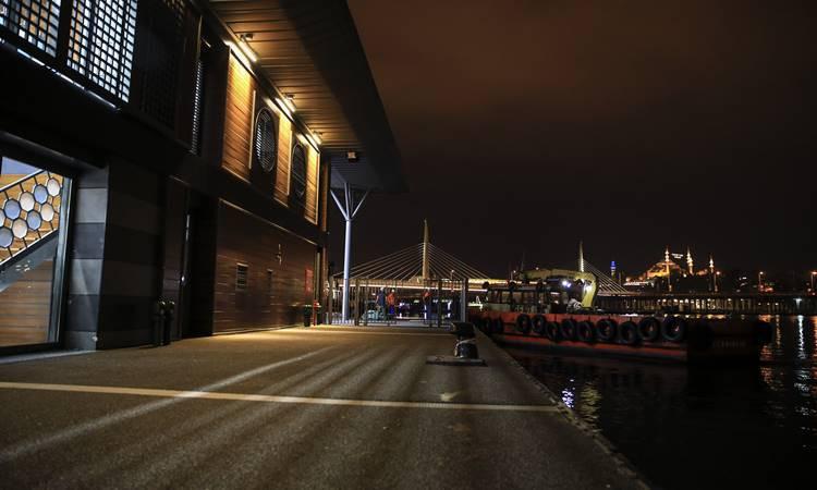 Karaköy yeni iskelesine kavuştu