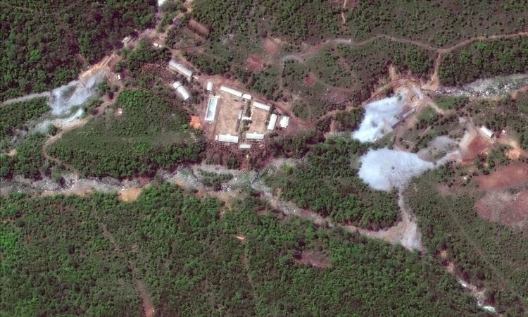 Kuzey Kore'de nükleer saha patlayıcılarla imha edildi